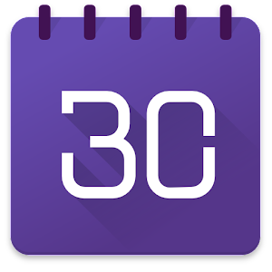 Powerful and easy to use calendar app - including weather, widgets and tasks APK Icon