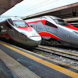 Frecciarossa 1000 - Roma Termini,Italy by Jerko Čačić - Transportation Trains (  )