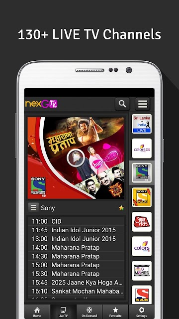 nexGTv HD:Mobile TV, Live TV screenshots