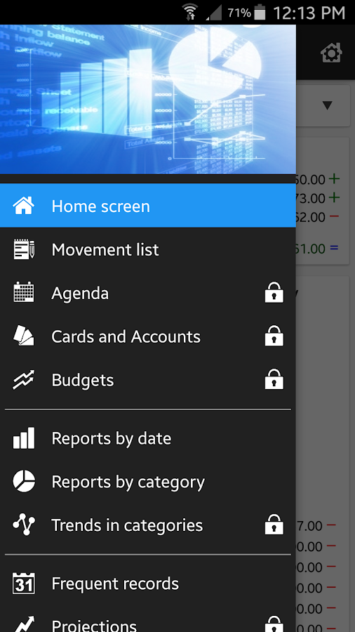 Daily Expenses 3 Screenshot 0