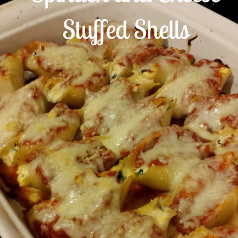 Spinach and Cheese Stuffed Shells