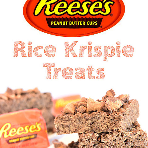 Reese's Peanut Butter Rice Krispie Treats