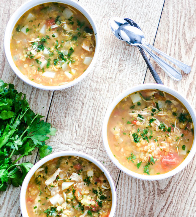 Red Lentil Soup With Turnip And Parsley Recipes — Dishmaps