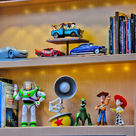 Pixar Toys by Jonathan White - Artistic Objects Toys ( buzzlightyear, toys, movie, pixar, disney )