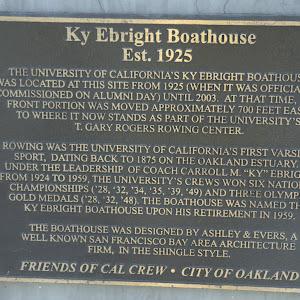 See: https://oaklandwiki.org/Ky_Ebright_Boathouse