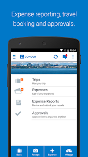 Concur Business app for Android Preview 1