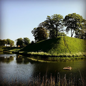 Castelet moat by Aleksey Maksimov - Instagram & Mobile Instagram