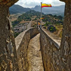 Citadelle de Sisteron. by Hany Hossameldin - Buildings & Architecture Public & Historical
