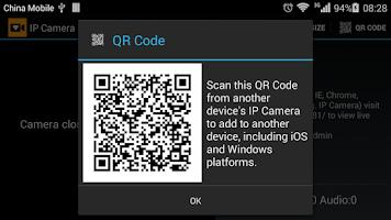 Screenshot of IP Camera