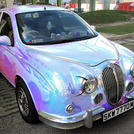 Pearl-Coloured Mitsuoka Viewt by Dennis  Ng - Transportation Automobiles (  )