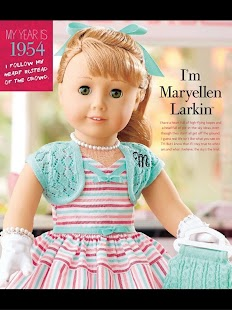 American Girl Catalogue- screenshot thumbnail