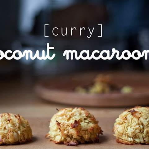 Curry Coconut Macaroons