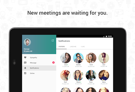 Free Hitwe - meet people and chat APK for Windows 8