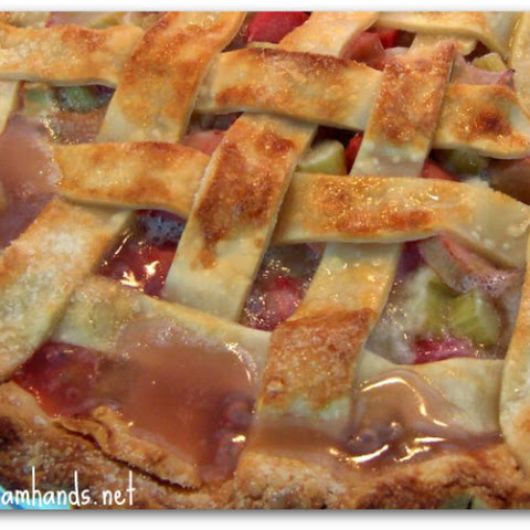 Simple Rhubarb Pie