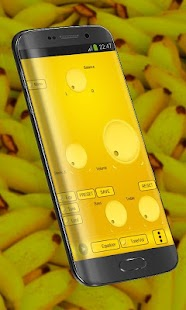 Banana Poweramp Skin - screenshot