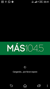 Radio Más 104.5 - screenshot