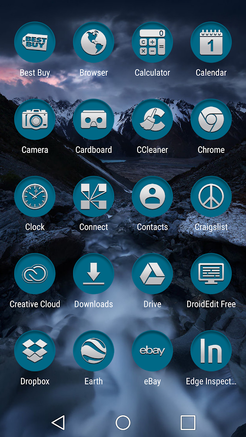 Based Turquoise Clean Screenshot 2
