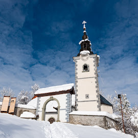 by Aleksandra Jereb - Buildings & Architecture Places of Worship ( sneg, mountains, winter, traveltheworld )