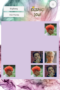 BigBang VIPs 2048 Puzzle - screenshot
