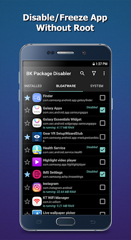 BK Package Manager Screenshot