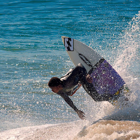 Summer Fun by Dave Ross - Sports & Fitness Surfing ( watersports, splash, summer, sea, ocean, fun )