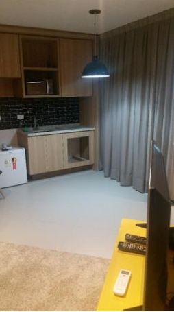 Flat com 1 dormitório para alugar, 45 m² por R$ 3.500,00/mês - Gonzaga - Santos/SP