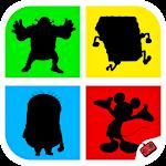 Shadow Quiz Game - Cartoons Icon