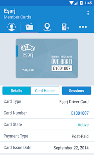 Eşarj Driver Mobile - screenshot