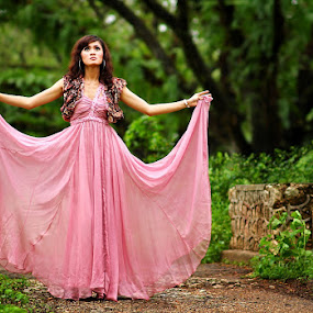 Pink by Kadetz Soewoko - People Portraits of Women