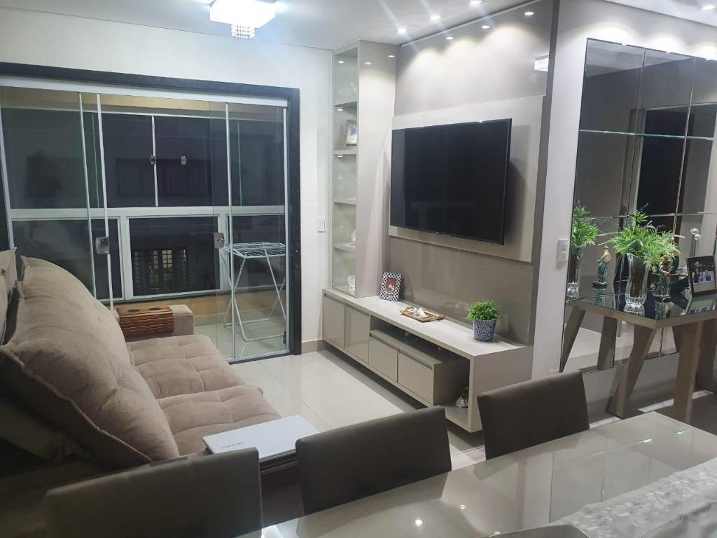 Apartamento com 3 dormitórios à venda, 90 m² por R$ 400.000,00 - Jardim Santa Inez - Uberaba/MG