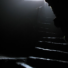 Steps by Hamed Ghalandar - Buildings & Architecture Other Interior ( firrozkooh, iran, boornik cave,  )