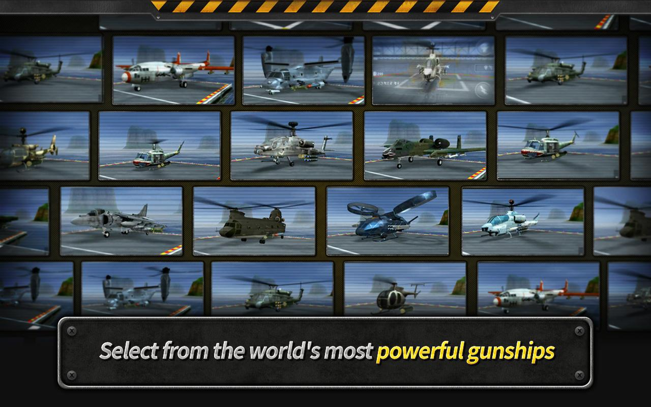 GUNSHIP BATTLE : Helicopter 3D Screenshot 13