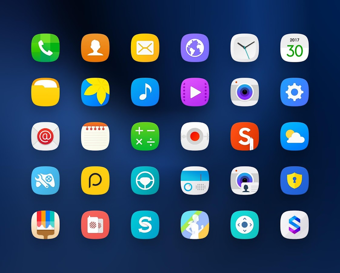 TouchWiz - Icon Pack Screenshot 8