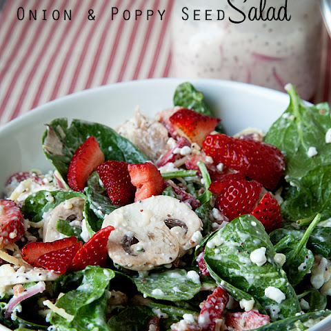 Onion and Poppy Seed Salad |