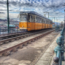 Tram #budapest by Roshan Lobo - Transportation Trains