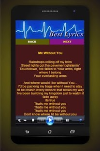 Song Lyrics toby Mac - screenshot
