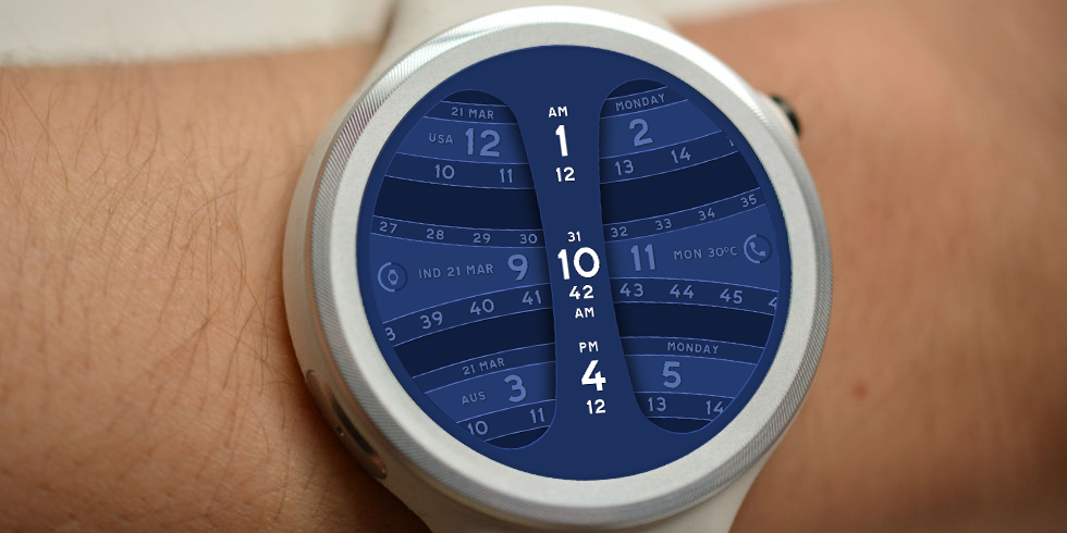 Global Timer Watch Face Screenshot 2