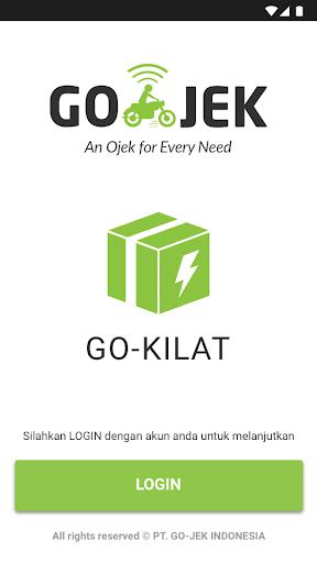 GO-KILAT Driver screenshot 1