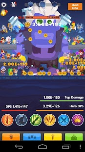 Tap Rush Heroes - screenshot