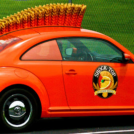 Orange Shock by David Russ - Transportation Automobiles (  )