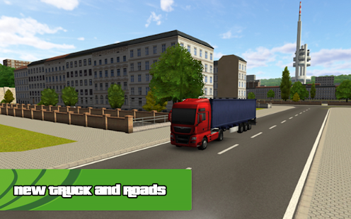 NEED FOR TRUCK DRIVER - screenshot