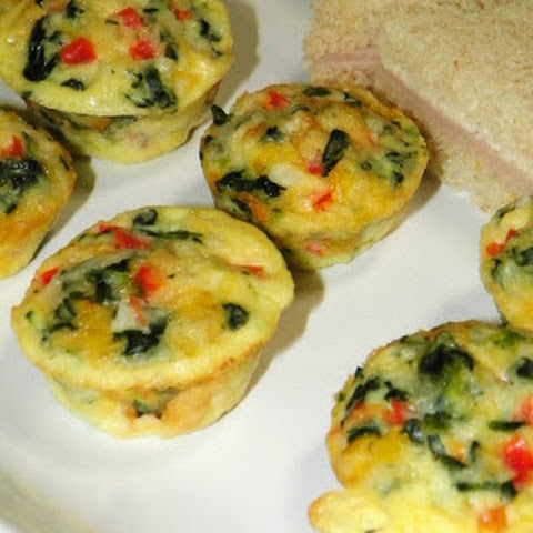 Mini Crust-less Quiches