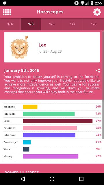 Horoscopes screenshots
