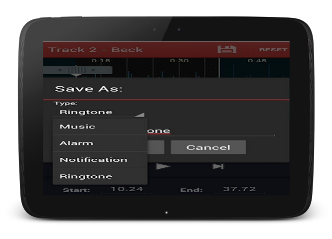 android Mp3 Cutter and Ringtone Maker Screenshot 11
