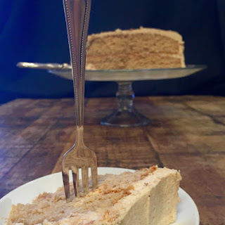 Snickerdoodle Cake with Cinnamon Brown Sugar Buttercream