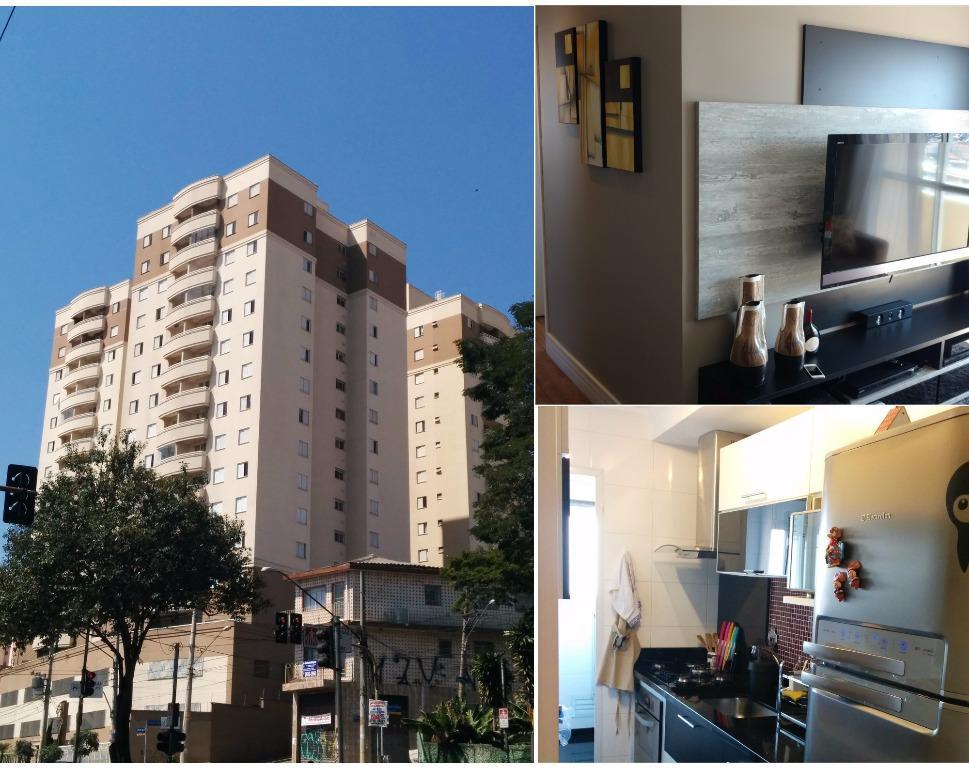 Apartamento residencial à venda, Vila Marieta, São Paulo.