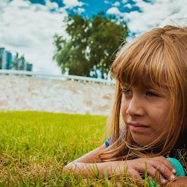 Little princess by Iordan Daniel Teodorescu - Babies & Children Child Portraits ( children portrait, blonde, girl, blondhair, children, children photography, kid )