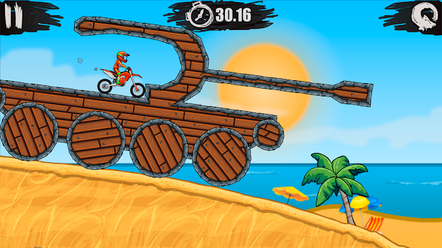 Moto X3M Bike Race Game APK screenshot thumbnail 2