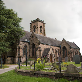 St Johns Church by Kylie Martin - Buildings & Architecture Places of Worship ( shenstone, church, st johns shenstone, st johns )