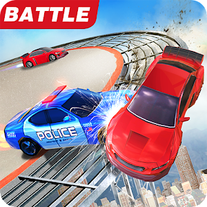 Car Bumper.io - Battle on Roof For PC